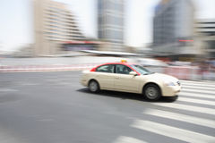 Taxi in Dubai Stock Photos