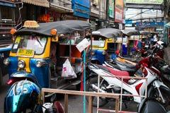Taxi e motociclo di Tuk Tuk Fotografia Stock Libera da Diritti