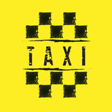 Taxi. Elements for design on the theme of Taxi Stock Photos