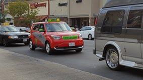 Taxi elettrico in Washington DC Immagini Stock Libere da Diritti