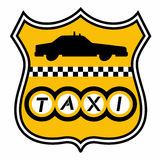 Taxi emblem Stock Photos