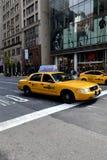 Taxi en Nueva York Fotos de archivo libres de regalías