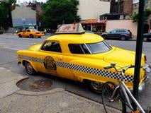 Taxi en Nueva York Fotografía de archivo