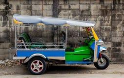 Taxi för TUK-TUK Thailand Arkivfoto