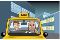 Taxi-Fahrer lizenzfreie abbildung