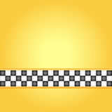 Taxi frame Royalty Free Stock Image