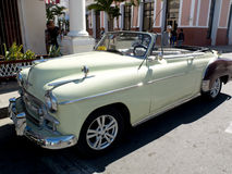 Taxi hermoso del vintage Foto de archivo