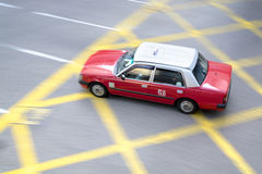 Taxi in Hong Kong Royalty Free Stock Photography