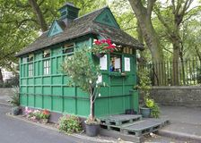 Taxi Hut. Taxi drivers tea hut in St John's Wood Stock Photography