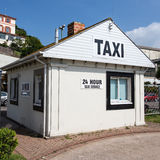 Taxi Hut Stock Photo