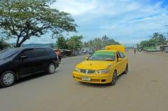 Taxi i Östtimor Arkivbild
