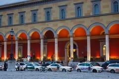 Taxi i Munich Royaltyfria Bilder