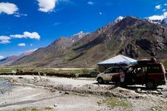 Taxi i Zanskar Arkivfoto