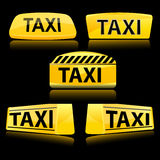 Taxi icon Royalty Free Stock Images