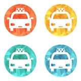 Taxi Icon Stock Image