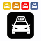 Taxi icon Royalty Free Stock Photography