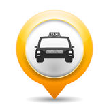 Taxi Icon Royalty Free Stock Photo