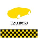Taxi Icon. Taxi Service. 24 Hour Serrvice. Taxi Car. White Backg. Round. For web design and application interface, also useful for infographics. Vector Stock Images