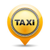 Taxi Icon royalty free illustration