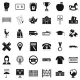 Taxi icons set, simple style. Taxi icons set. Simple style of 36 taxi vector icons for web isolated on white background vector illustration