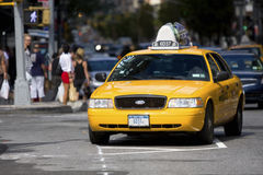 Free Taxi In Manhattan Royalty Free Stock Photography - 15935557