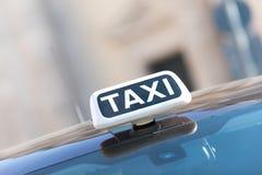 Taxi italiano Fotografie Stock Libere da Diritti