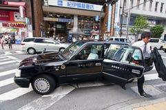 Taxi japonais Photos stock