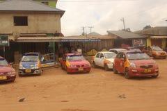 Taxi kategoria w Kwabenya zdjęcia royalty free