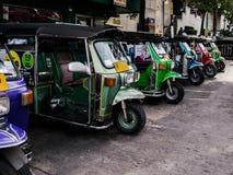 Taxi 3 koło Obrazy Royalty Free