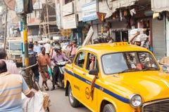 Taxi, Kolkata Stock Image