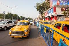 Taxi, Kolkata Royalty Free Stock Photos