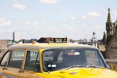 taxi kolor żółty zdjęcia stock