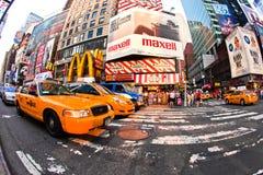 Taxi kwadrat czasami Fotografia Stock