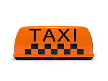 Taxi lamp Stock Images