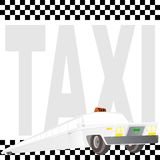 Taxi Limousine Royalty Free Stock Photo