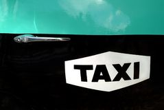 Taxi logo Stock Photos