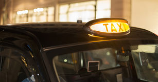 Taxi in London Stock Photography