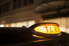 Taxi in London Royalty Free Stock Image