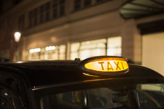Taxi in London Stock Photo