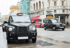 Taxi in London Royalty Free Stock Photography