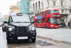 Taxi in London Royalty Free Stock Photo
