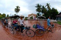 Taxi met drie wielen. Royalty-vrije Stock Foto's