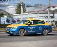 Taxi-Meter chiangmai, Nissan Sylphy Lizenzfreie Stockfotos