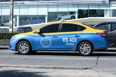 Taxi-Meter chiangmai, Nissan Sylphy Lizenzfreie Stockfotografie
