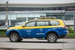 Taxi-Meter chiangmai, Nissan Sylphy Stockfotografie
