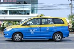 Taxi Meter chiangmai, Toyota Innova Royalty Free Stock Photo