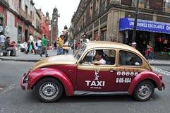 Taxi mexicano Fotografía de archivo libre de regalías