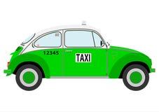 Taxi mexicano retro libre illustration