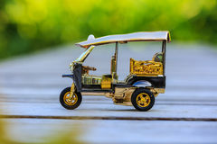 Taxi modelo Tailandia de Tuk Tuk Fotos de archivo libres de regalías