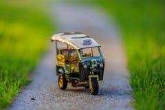 Taxi modelo Tailandia de Tuk Tuk Imagen de archivo